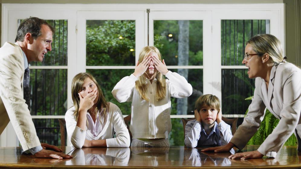 La familia narcisista